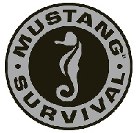 Mustang logo and link